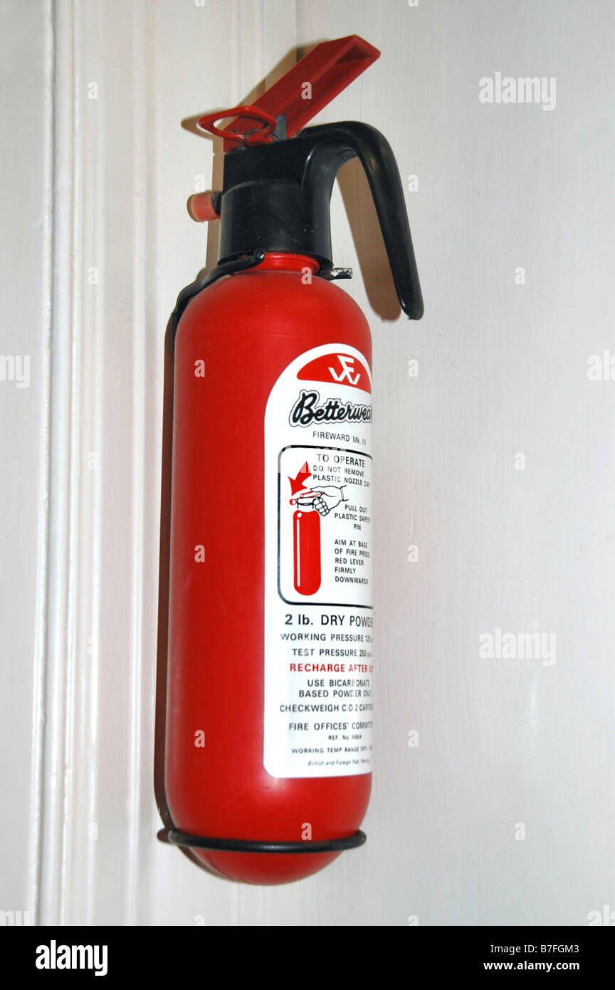 Fire Extinguisher Kitchen Stock Photos & Fire Extinguisher Kitchen ...