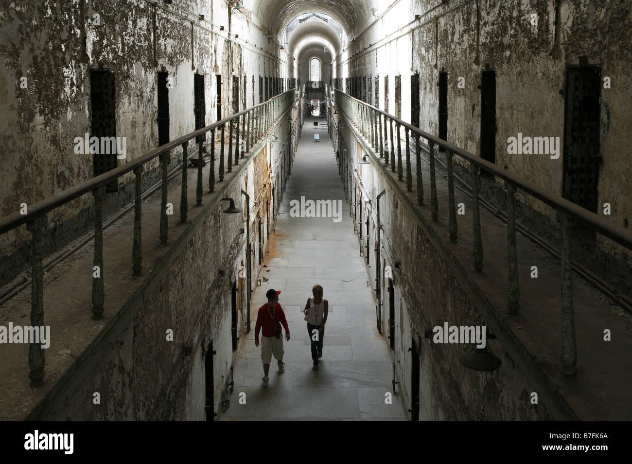 Eastern State Penitentiary, Philadelphia, Pennsylvania, USA - Stock Image