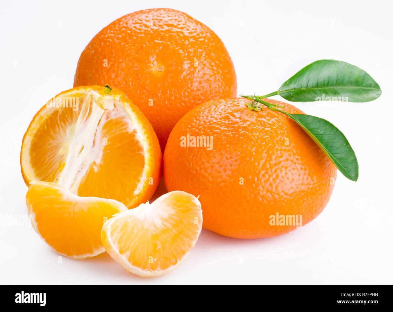 tangerine - Stock Image