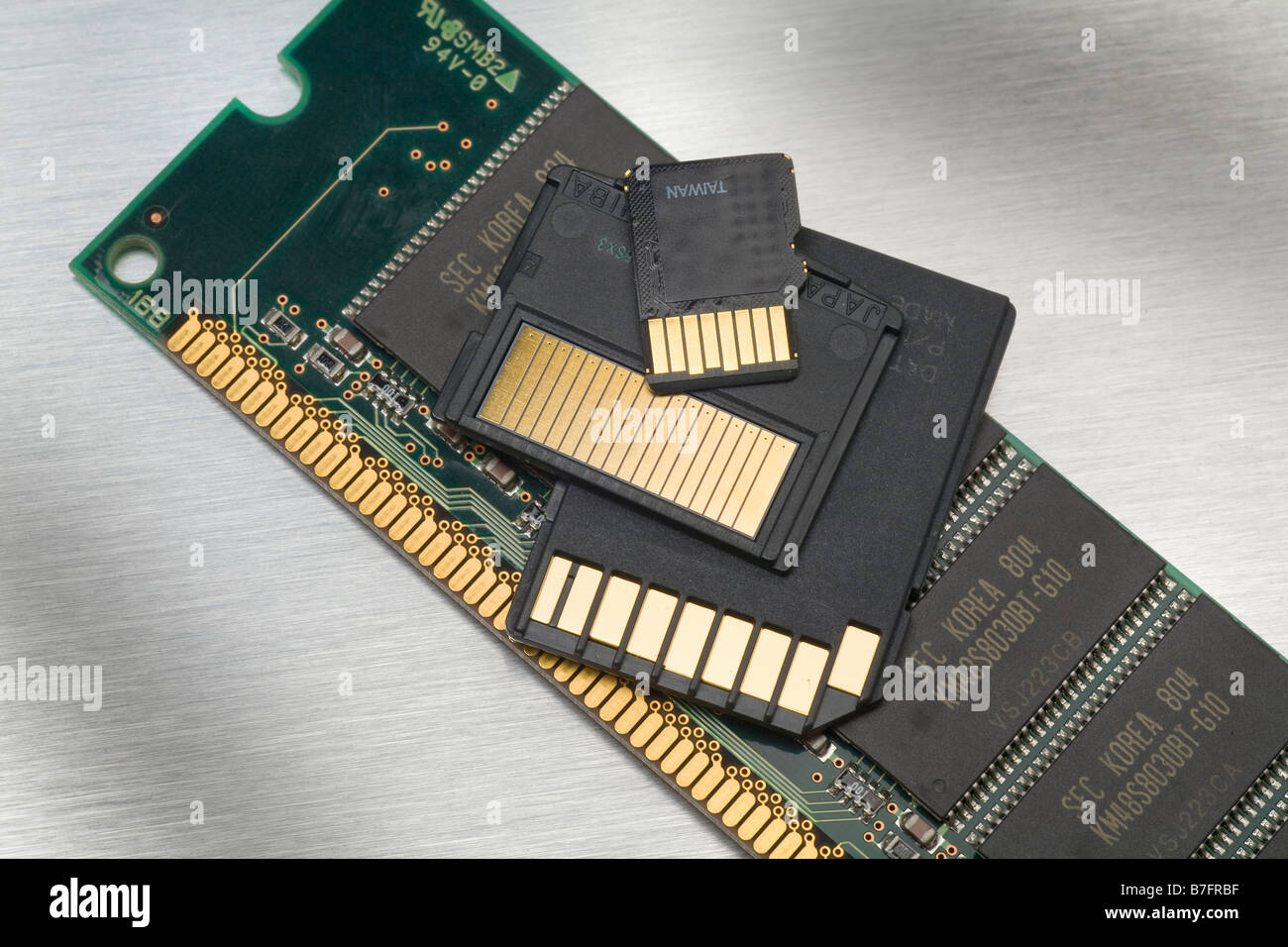 Dimm Stock Photos Images Alamy Ram Laptop Ddr2 2gb Pc2 6400 Asli Jepang Flash Memory Types Compared From Korea Taiwan Japan Image