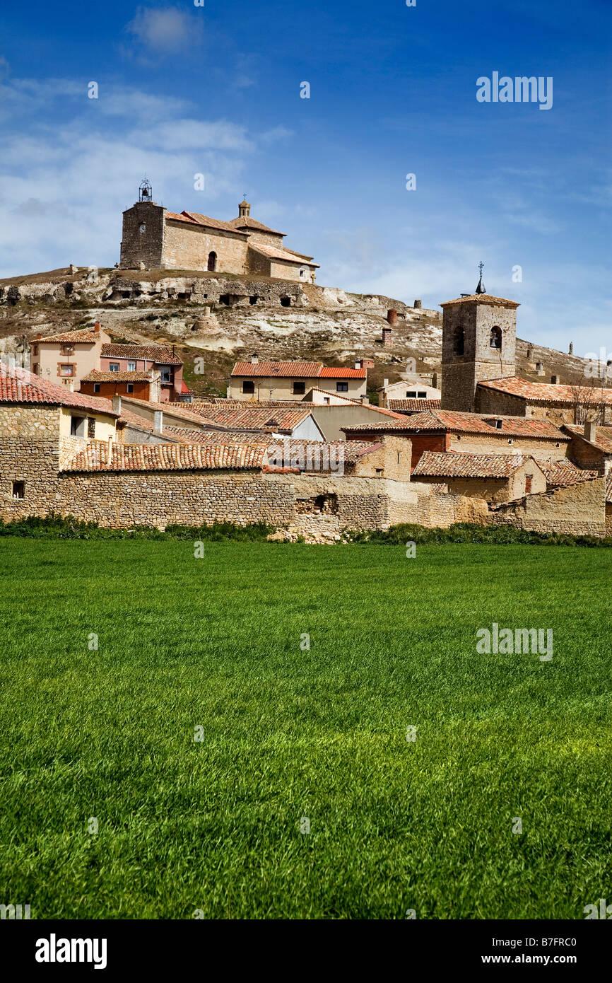 Trigueros del Valle Valladolid Castilla Leon España Trigueros del Valle Valladolid Castilla Leon Spain - Stock Image