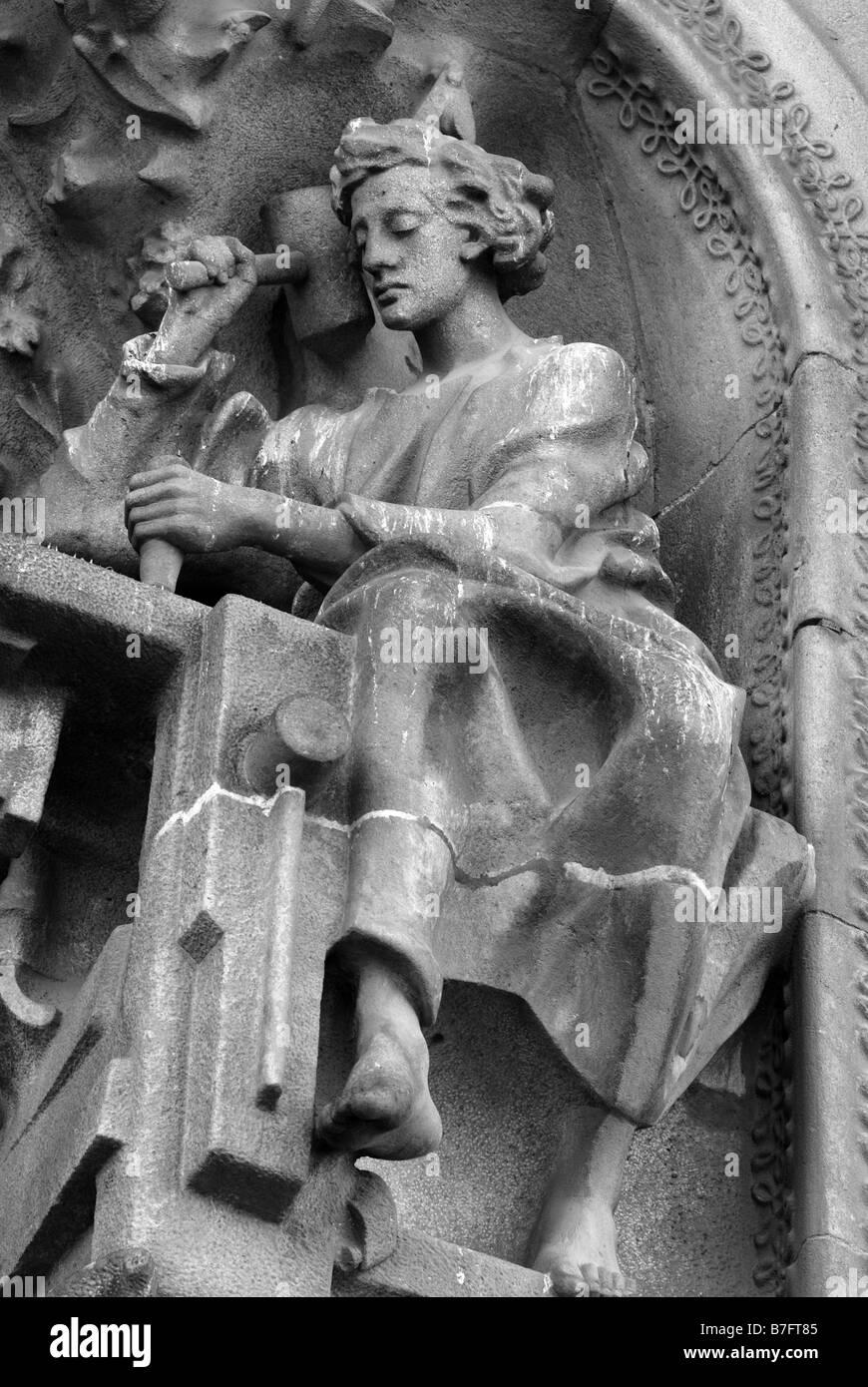 Sagrada Familia decorations - Stock Image