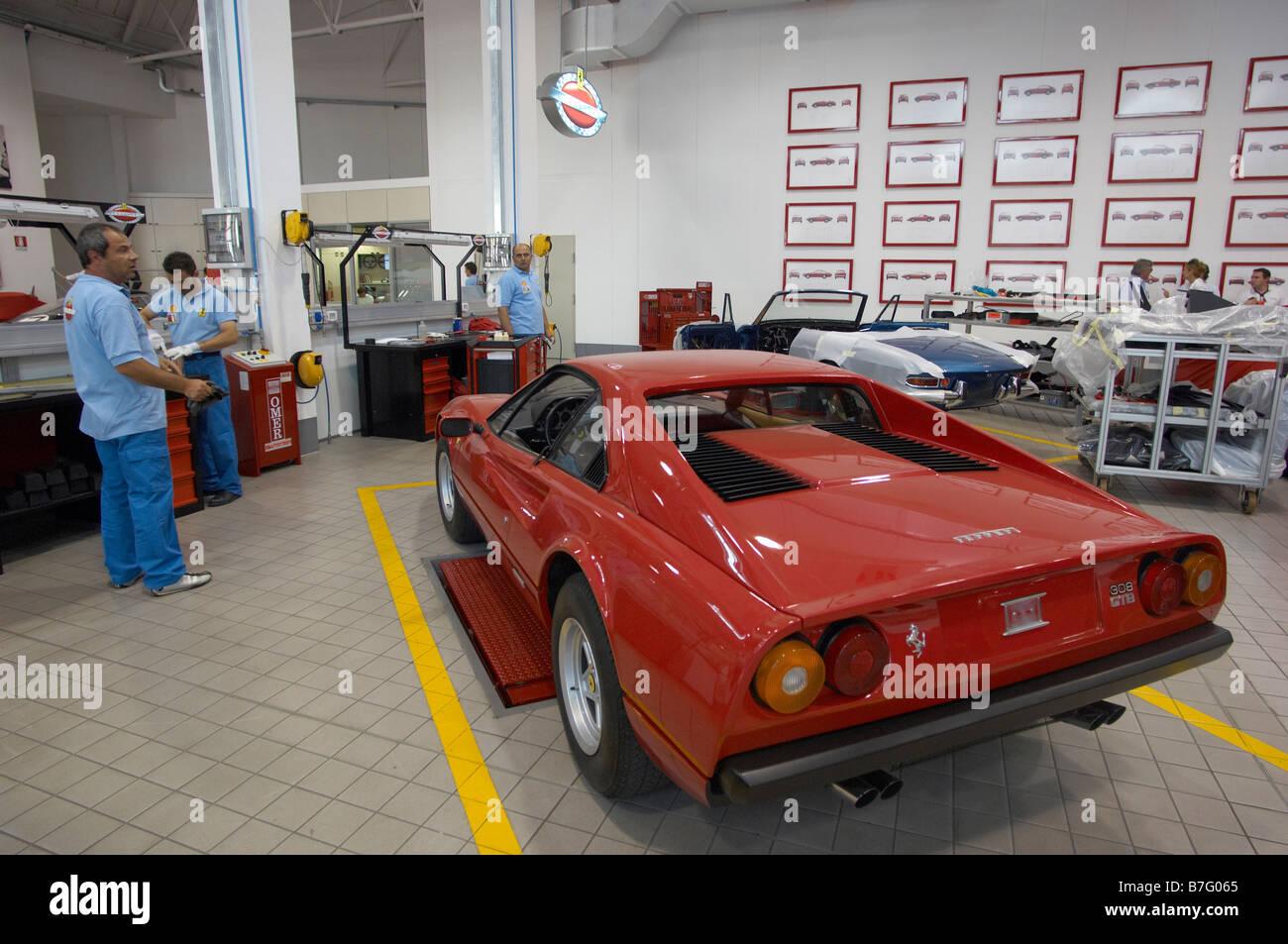Ferrari Classiche Maranello Stock Photo Alamy