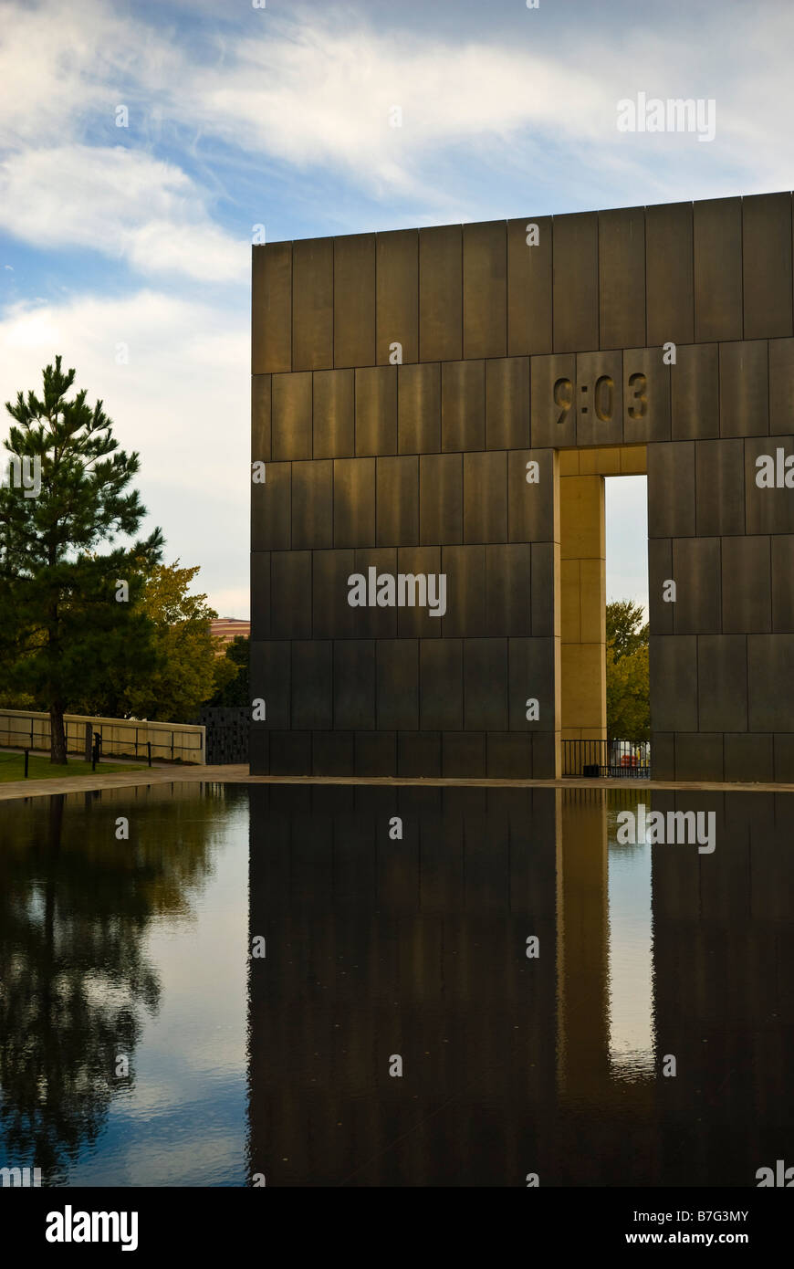 Oklahoma City National Memorial and Museum in Oklahoma City, Oklahoma, USA. Stock Photo