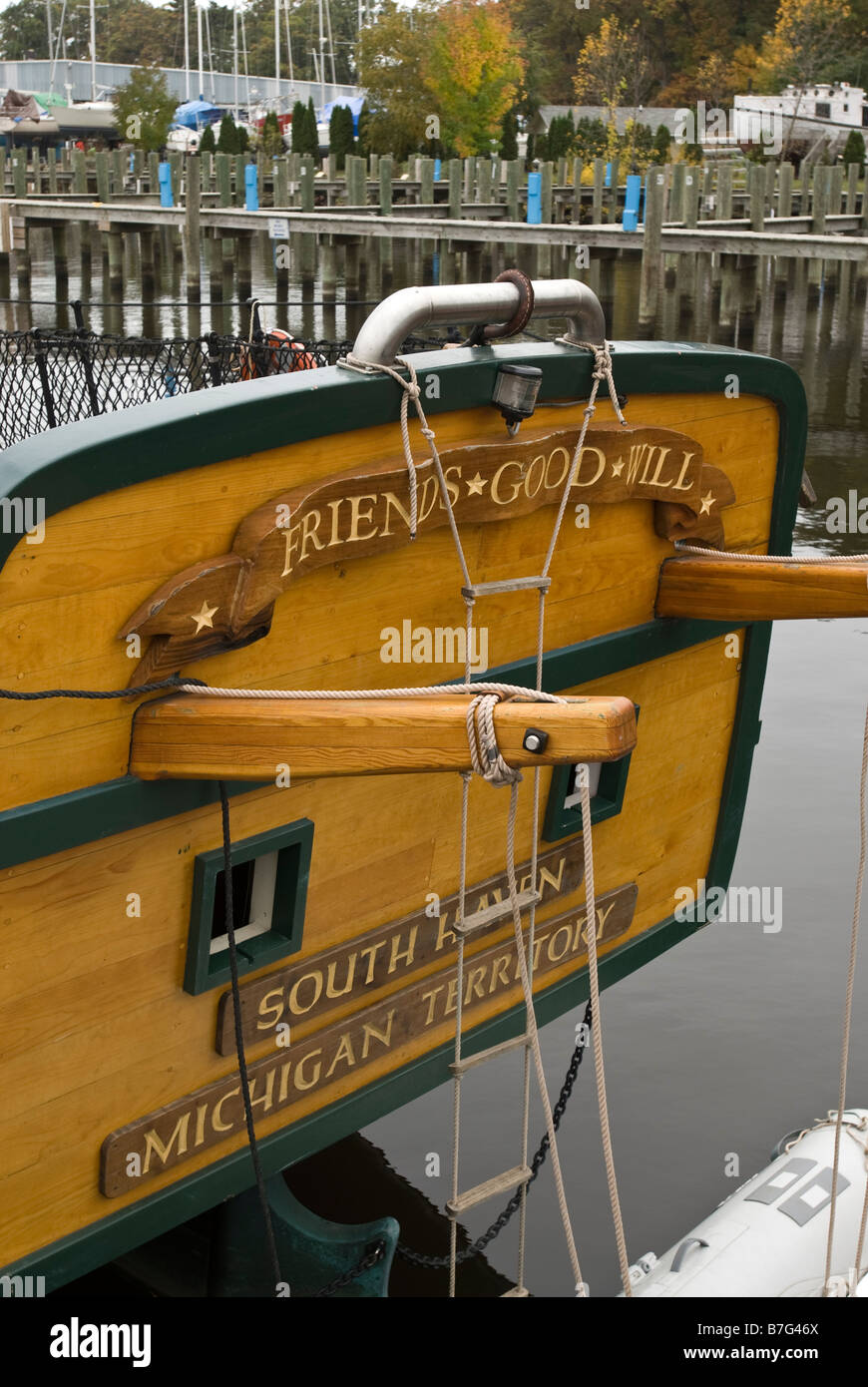 Friends Good Will, Michigan Maritime Museum in South Haven, Michigan, USA. - Stock Image