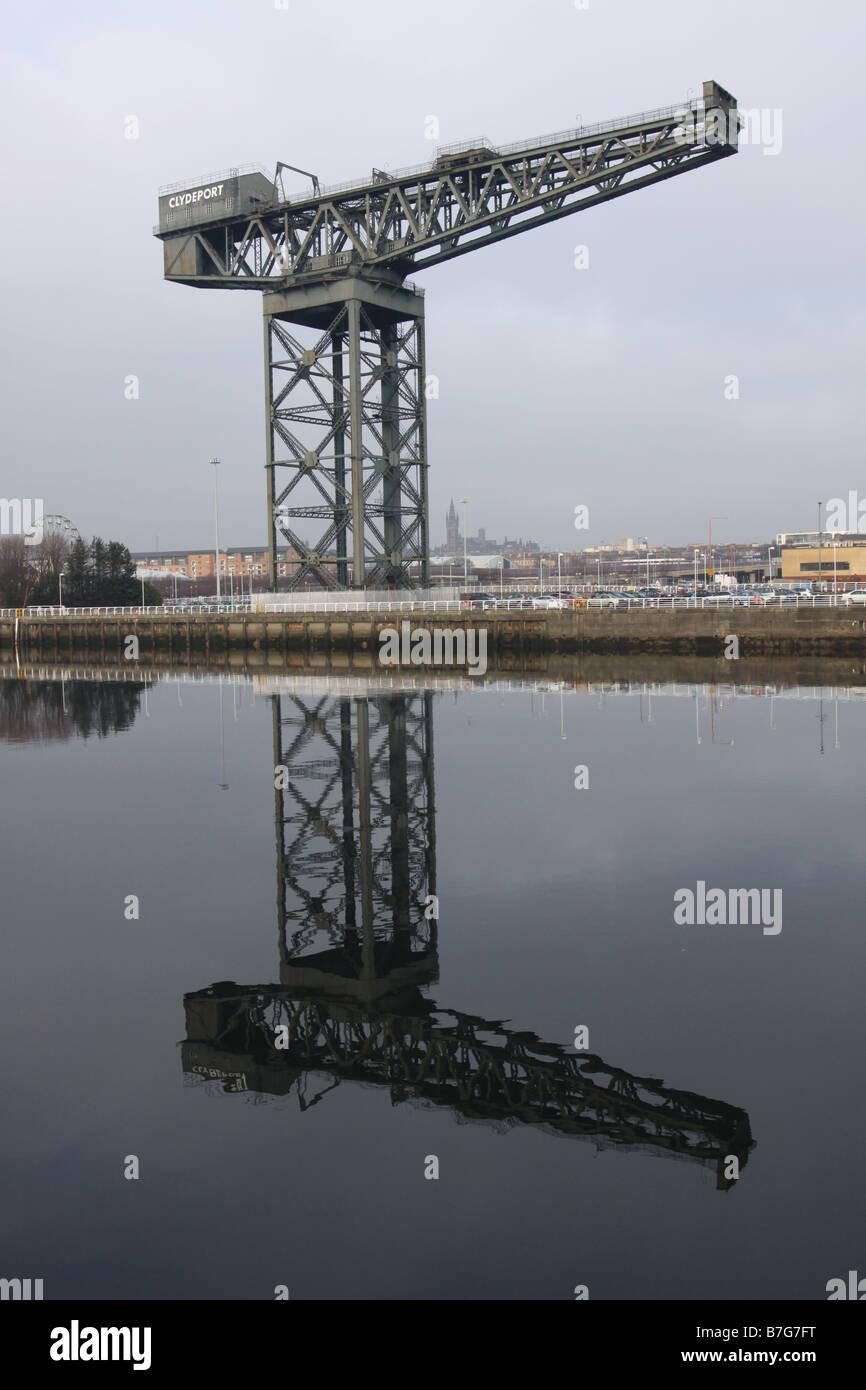 Finnieston Glasgow Scotland  December 2008 - Stock Image