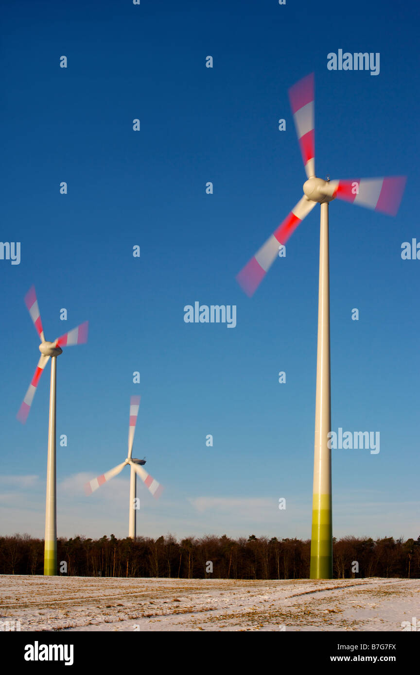 Wind energy facility - Stock Image
