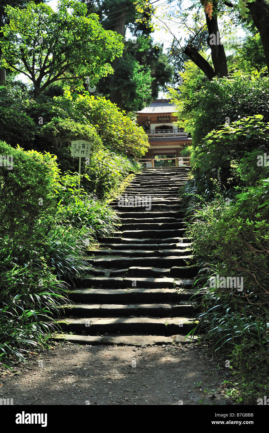 Jochi-ji, Kamakura, Kanagawa Prefecture, Japan - Stock Image