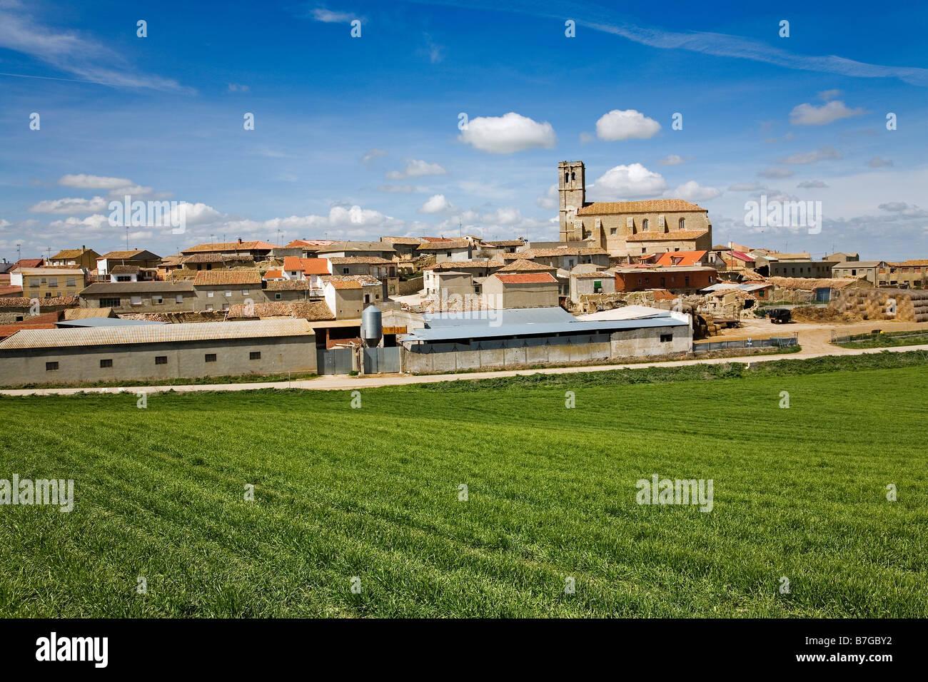 Valdenebro de los Valles Valladolid Castilla Leon España Valdenebro de los Valles Valladolid Castilla Leon - Stock Image