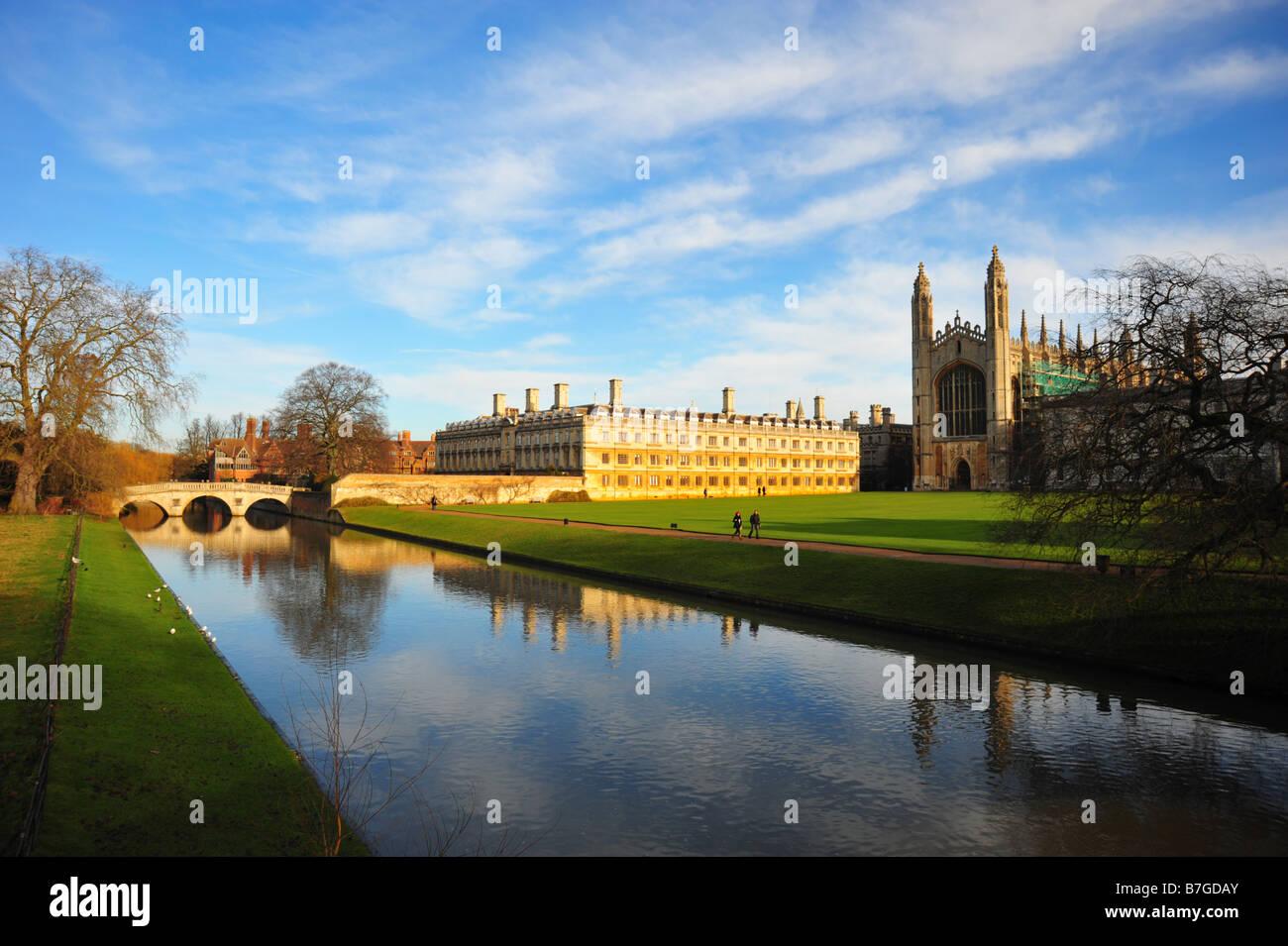 Cambridge University buildings - Stock Image
