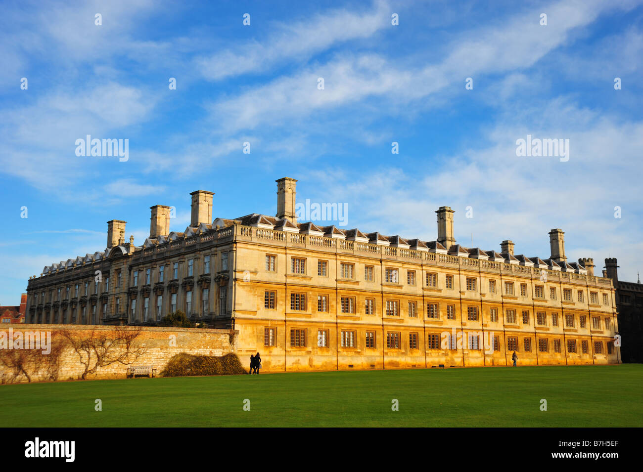 University Building at Kings College, Cambridge - Stock Image