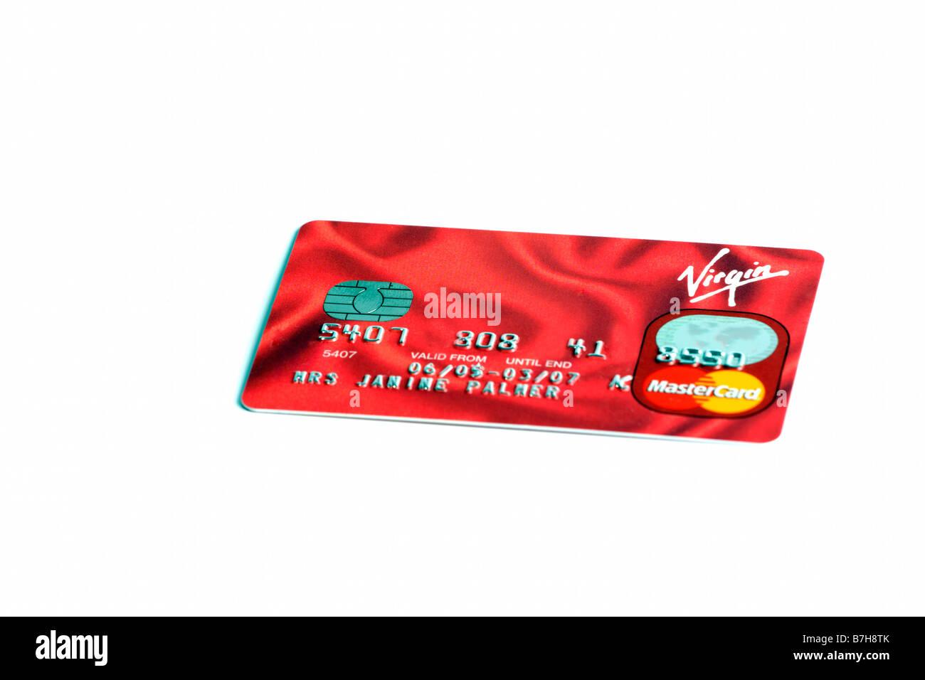 Virgin Credit card Stock Photo