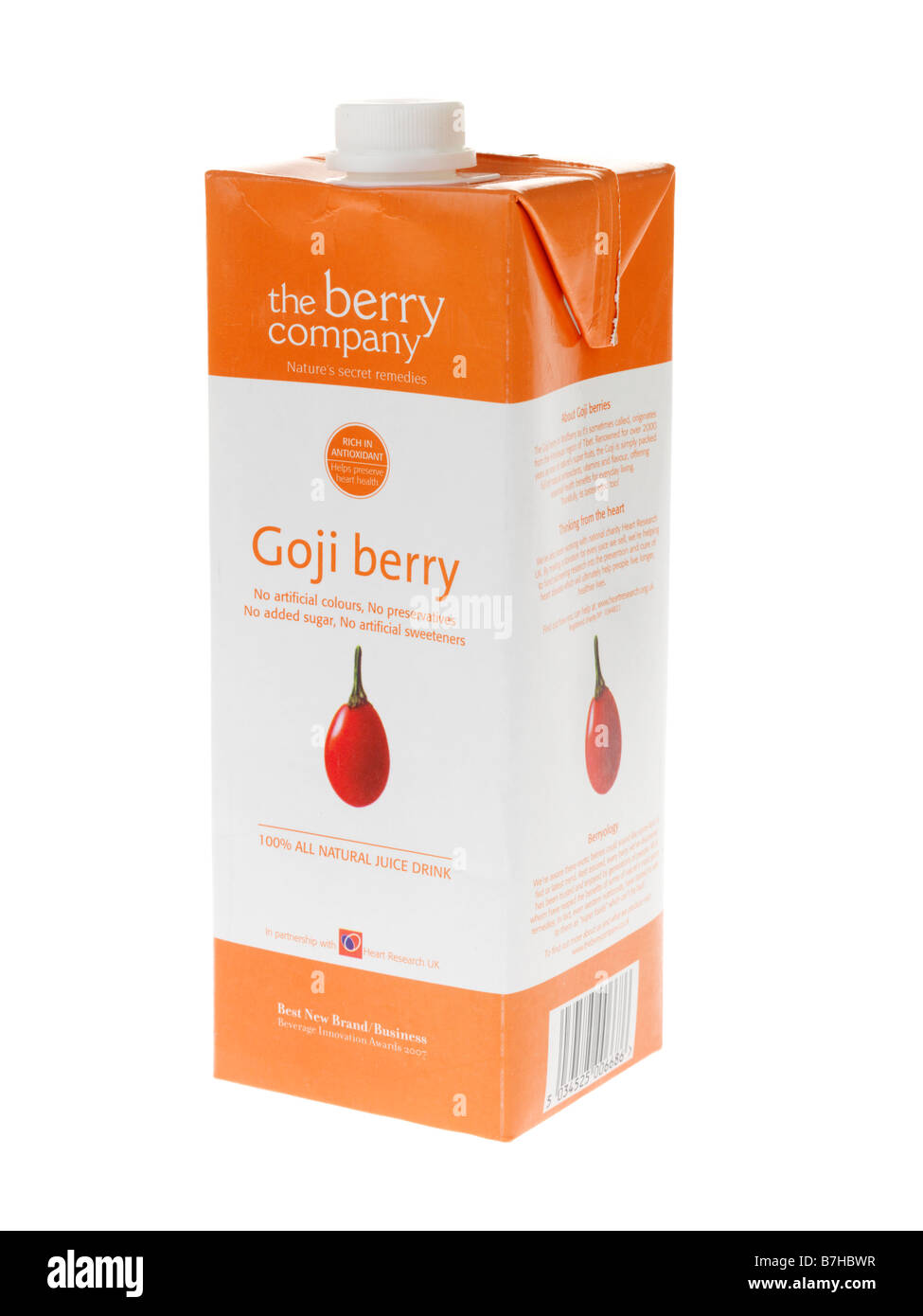 Goji Berry Juice Stock Photo Alamy