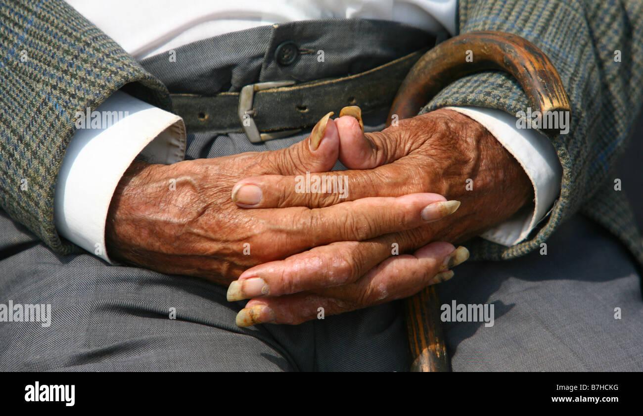 Long Nails Man Stock Photos & Long Nails Man Stock Images - Alamy