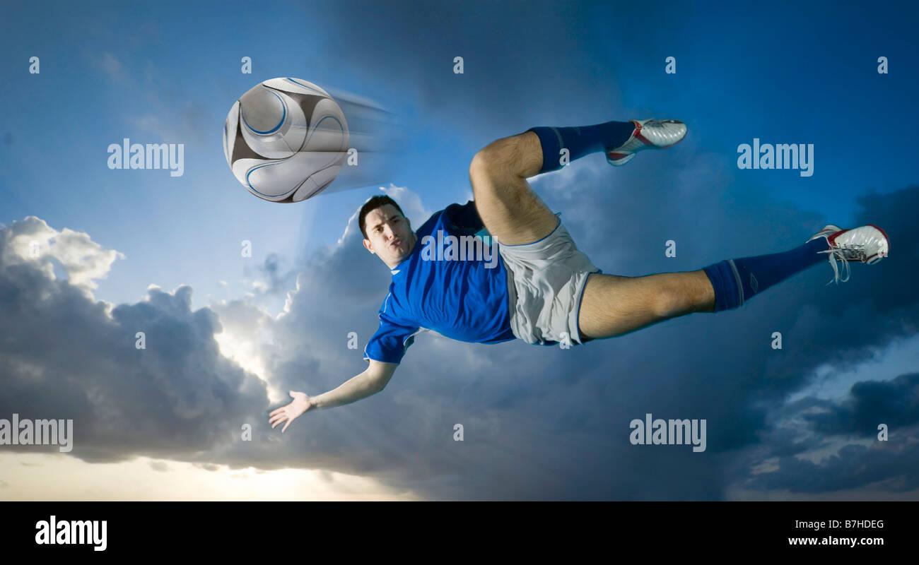 Sky kicker - Stock Image