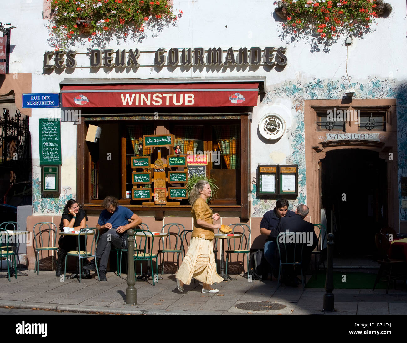 One of the many pubs - Stock Image