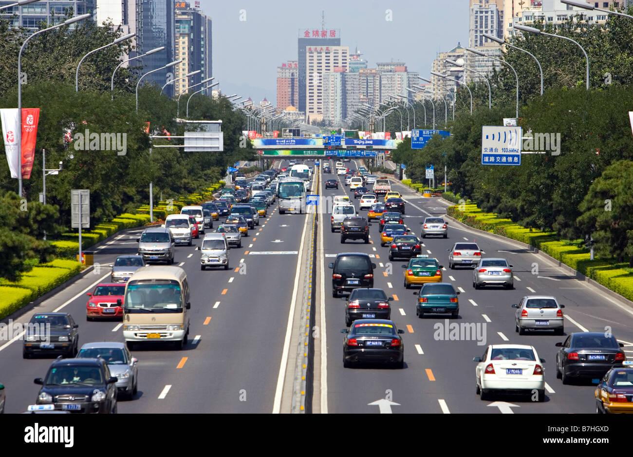 Bejing Traffic - Stock Image