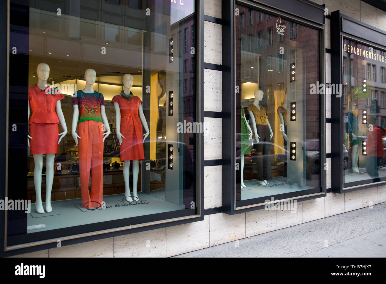 677fdea8185cb Louis Vuitton dept store in Berlin Stock Photo  21900991 - Alamy