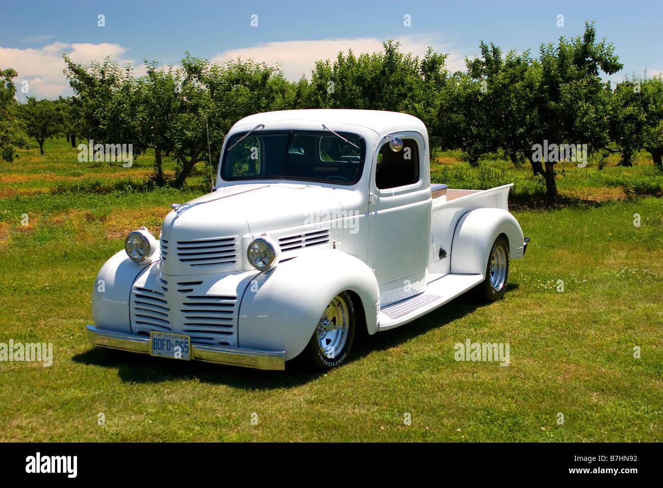 1940 Custom Dodge Pick Up Truck Stock Photo Alamy