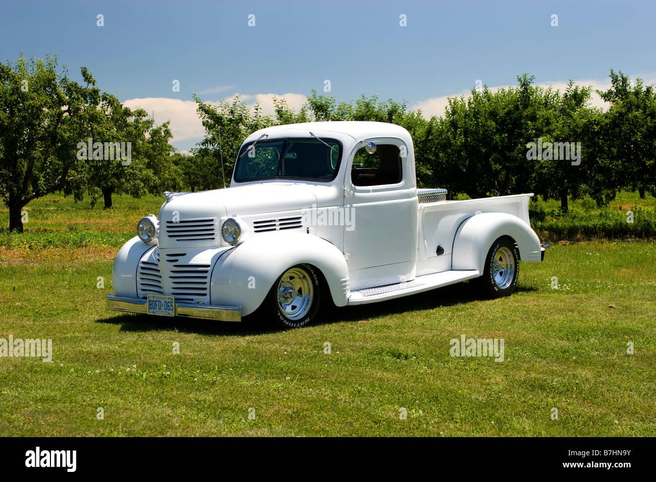 1940 Custom Dodge Pickup Truck Stock Photo Alamy