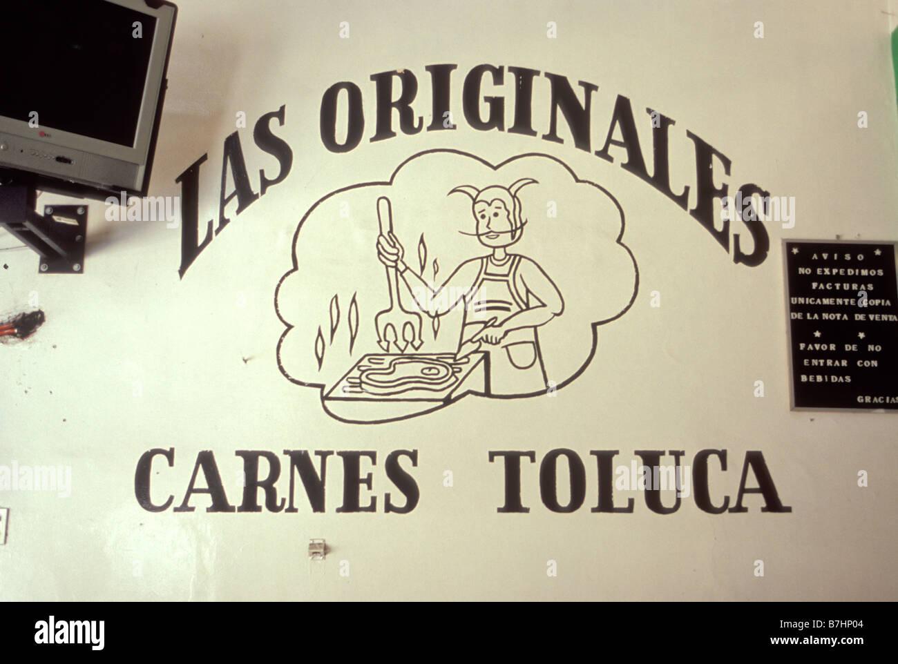 Las Originales Taqueria restaurant in Zamora Michoacan Mexico Stock Photo