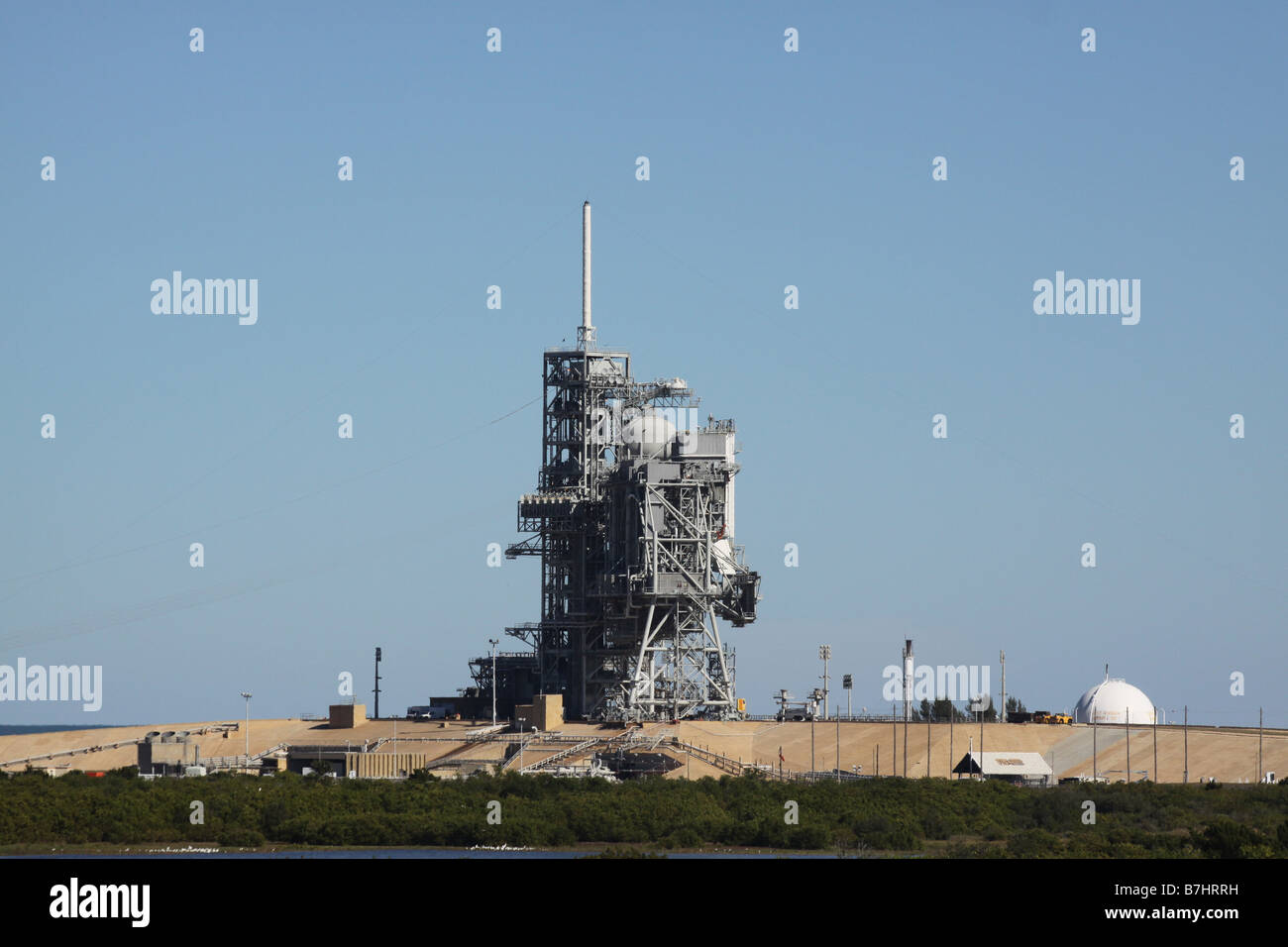 NASA Launch Pad 39A Kennedy Space Center Cape Canaveral ...