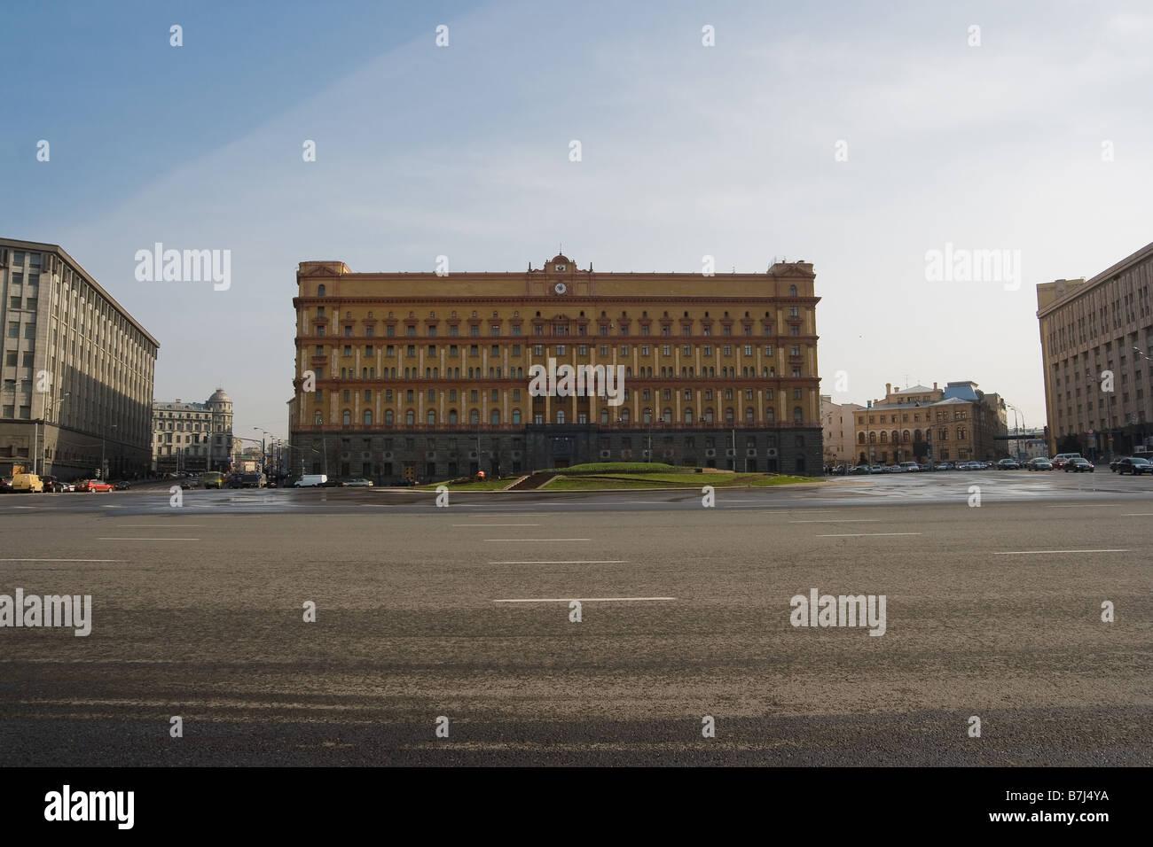 Lubyanka Square - Stock Image