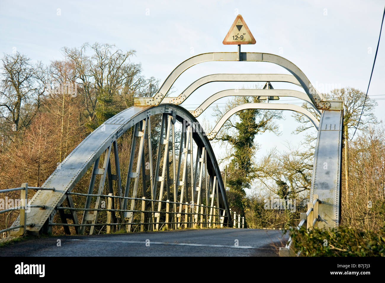 Bonds bridge over the river blackwater - Stock Image