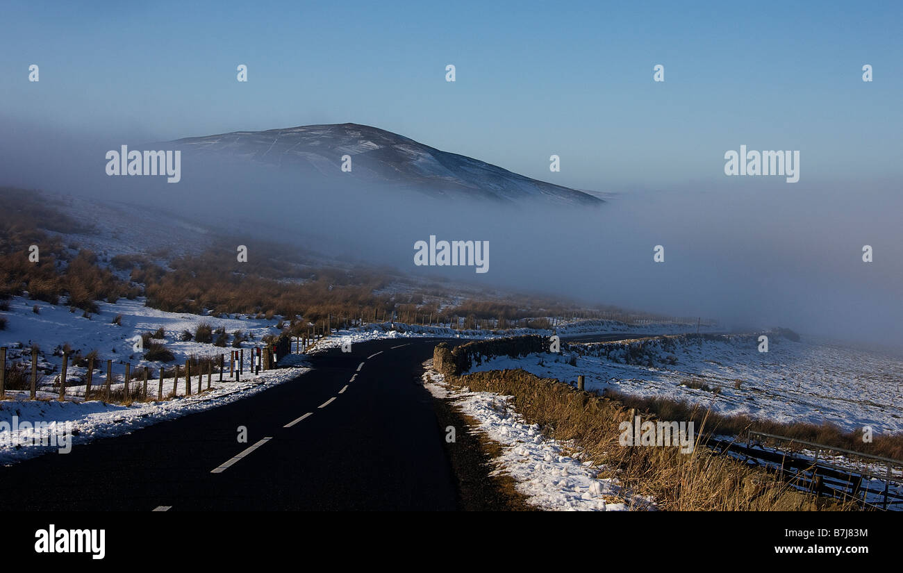 Dirrington Great  law.Longformacus road.Duns.Scottish borders Scotland. - Stock Image
