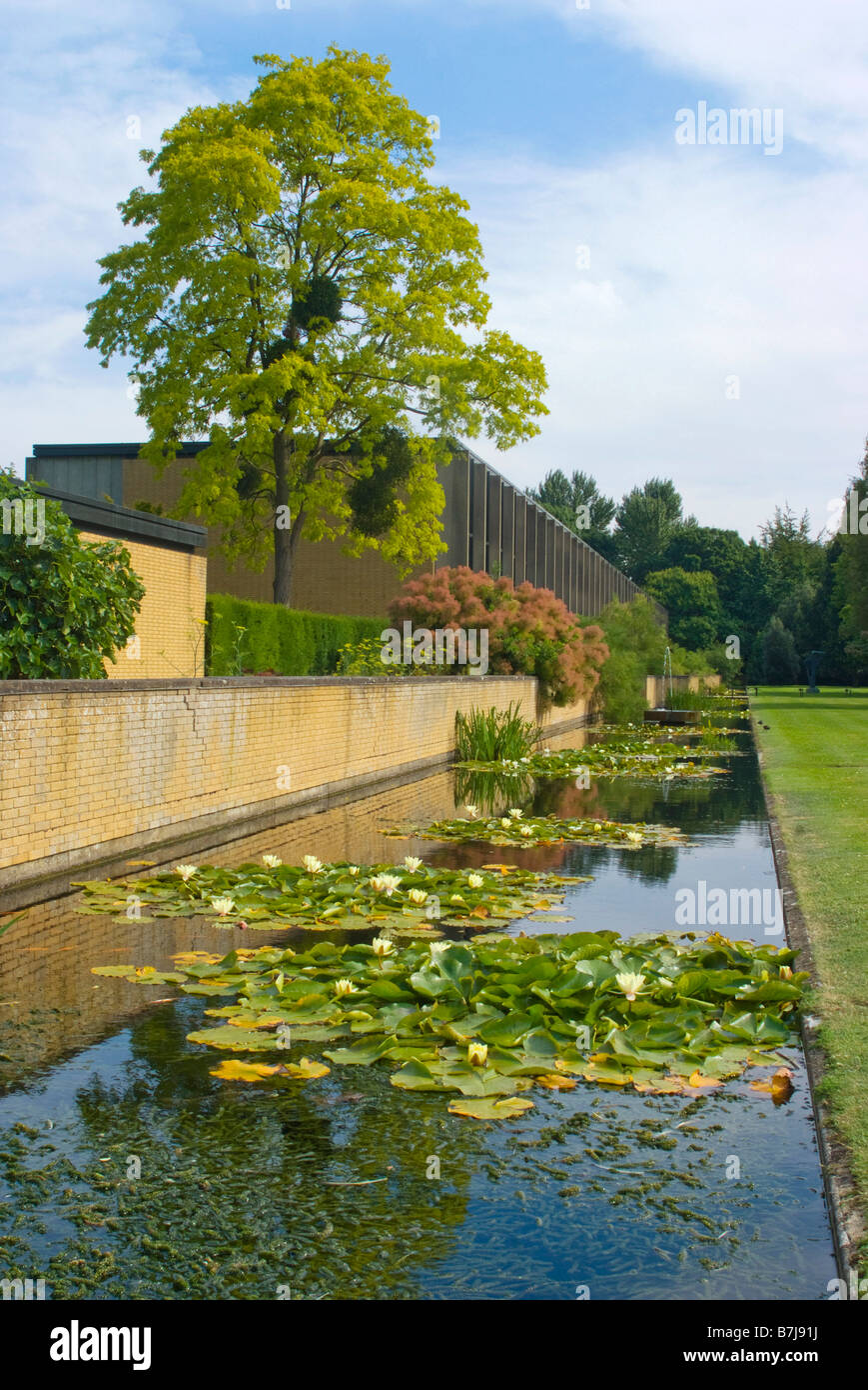 St Catherine's College, Oxford - Stock Image
