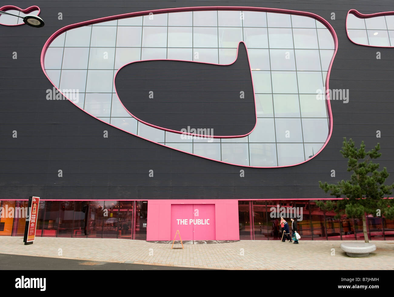 The Public art gallery and visitors centre in West Bromwich, Sandwell , West Midlands England, UK. - Stock Image