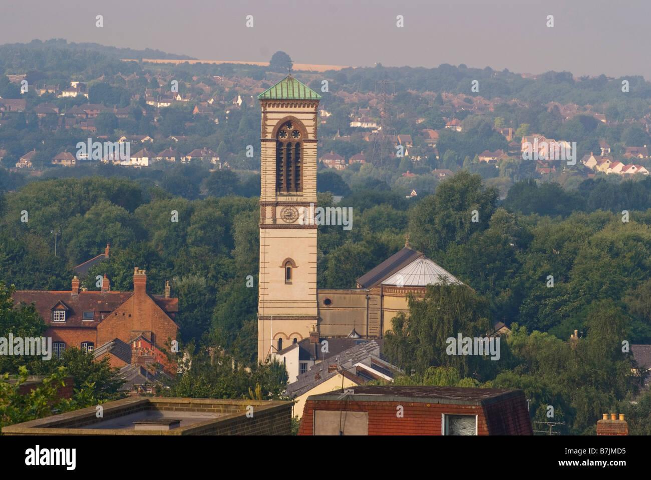 St Barnabas Church, Jericho, Oxford - Stock Image