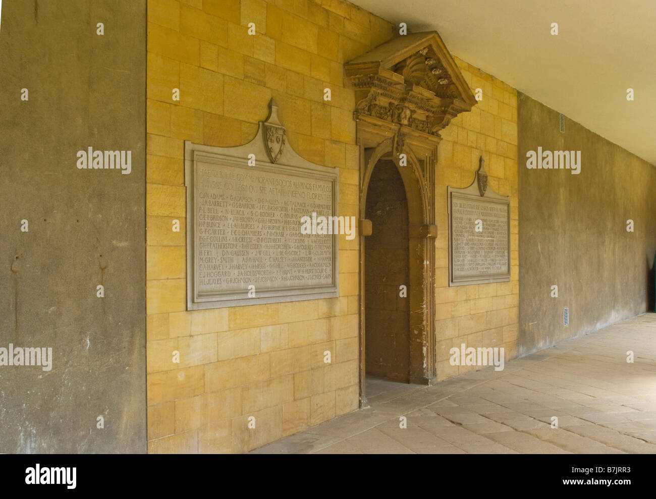 St Johns College, Oxford University - Stock Image