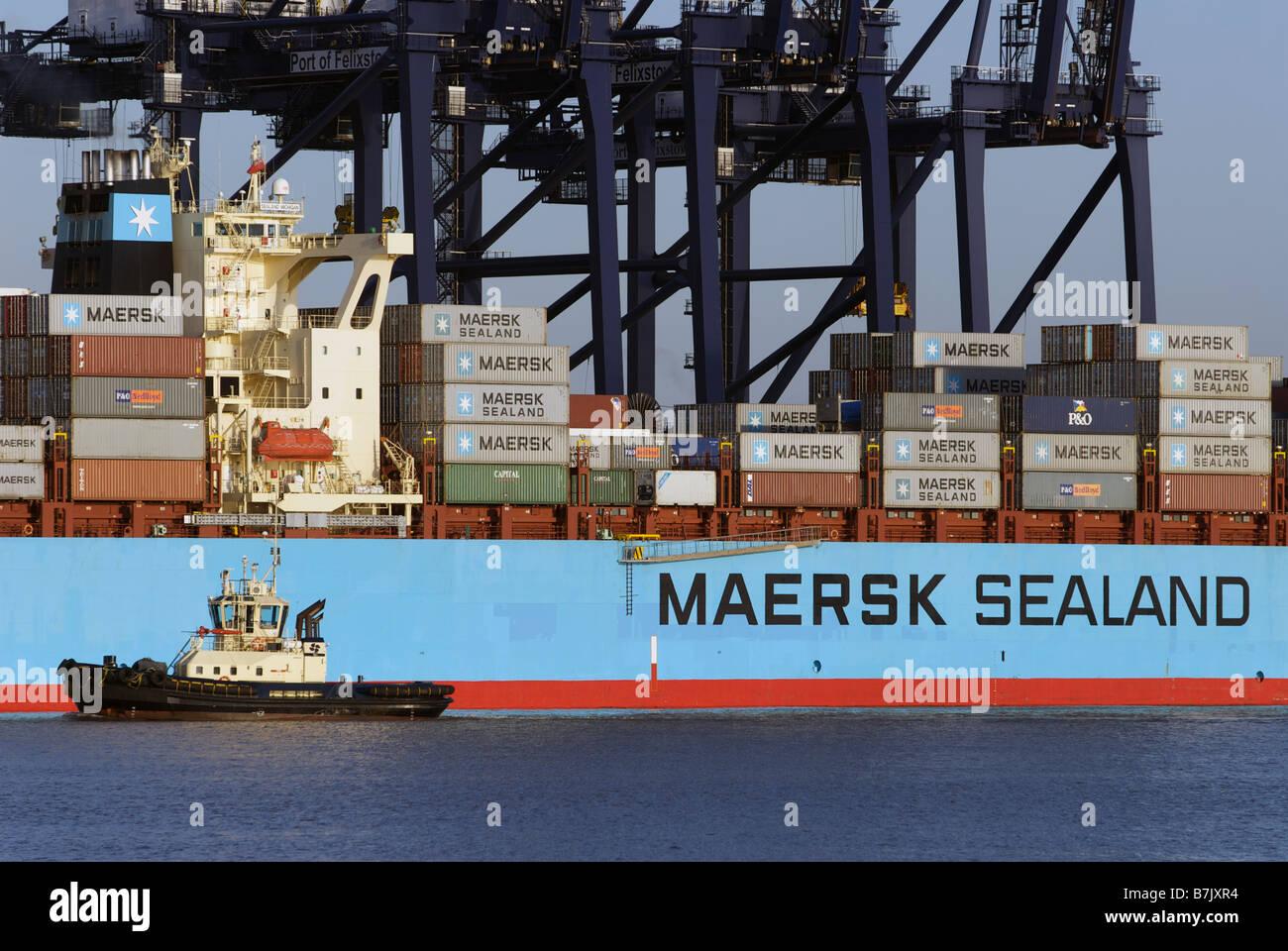 Maersk Sealand Stock Photos & Maersk Sealand Stock Images