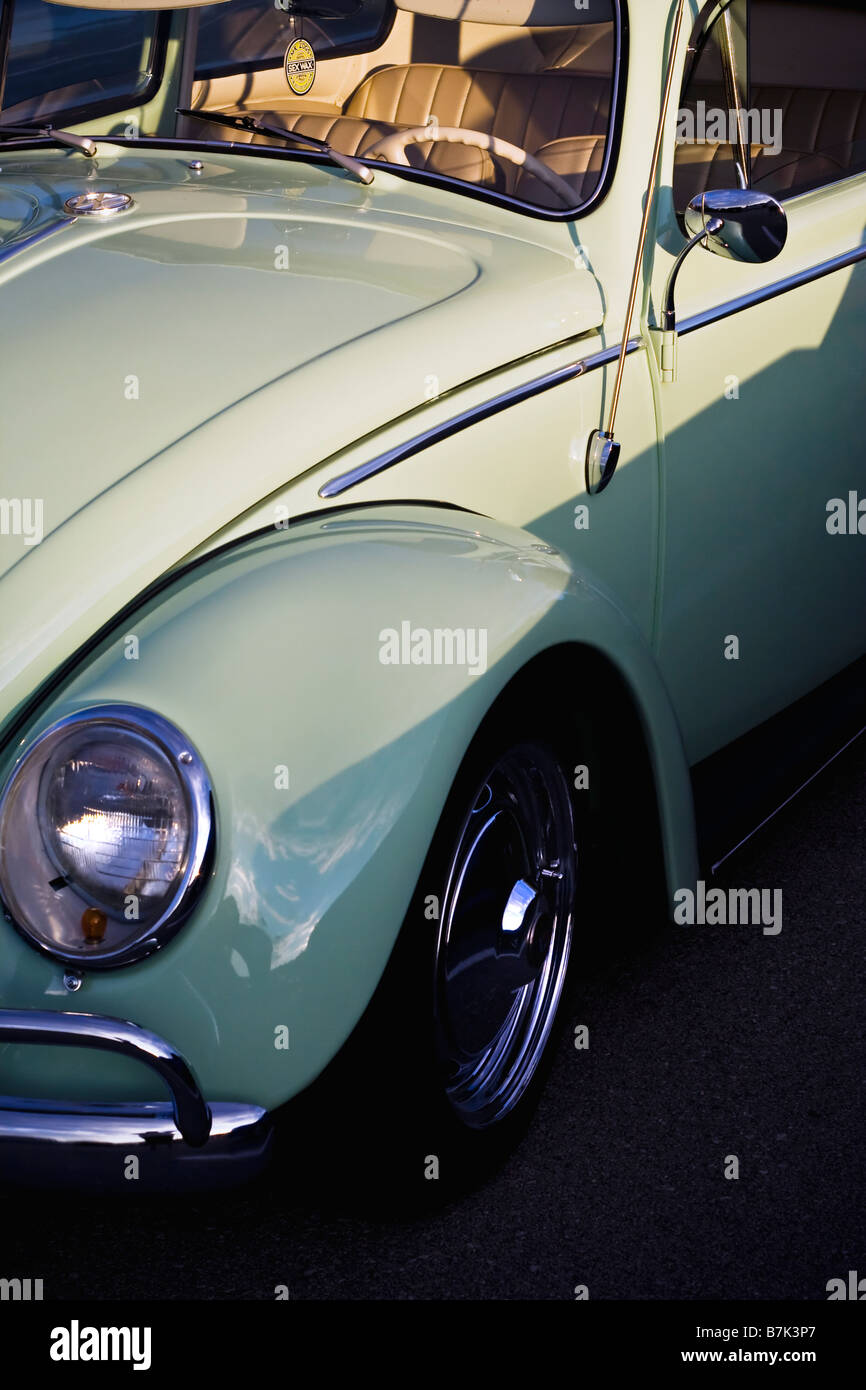 Vintage Green Volkswagen Beetle Stock Photos Amp Vintage