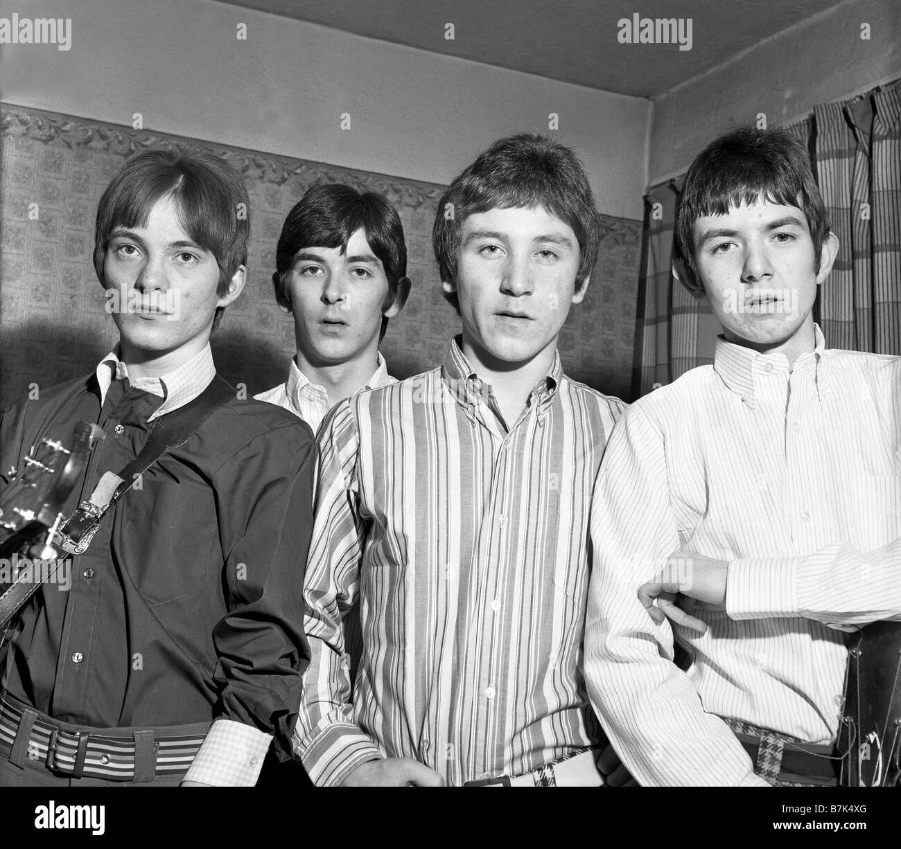 The Small Faces in the dressing room at the Majestic in Wellington ...