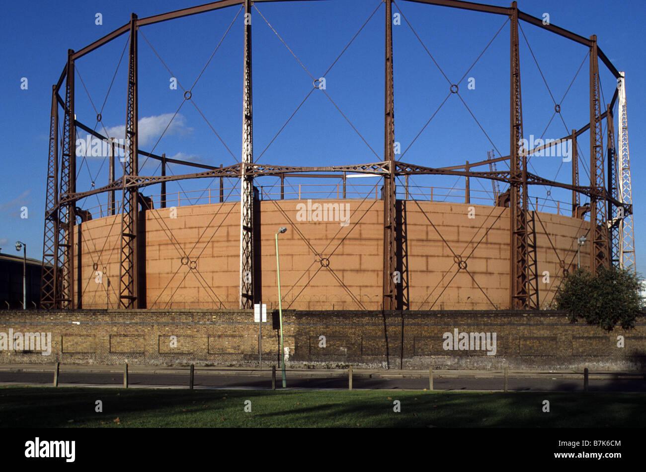 London Gas Works Stock Photos & London Gas Works Stock