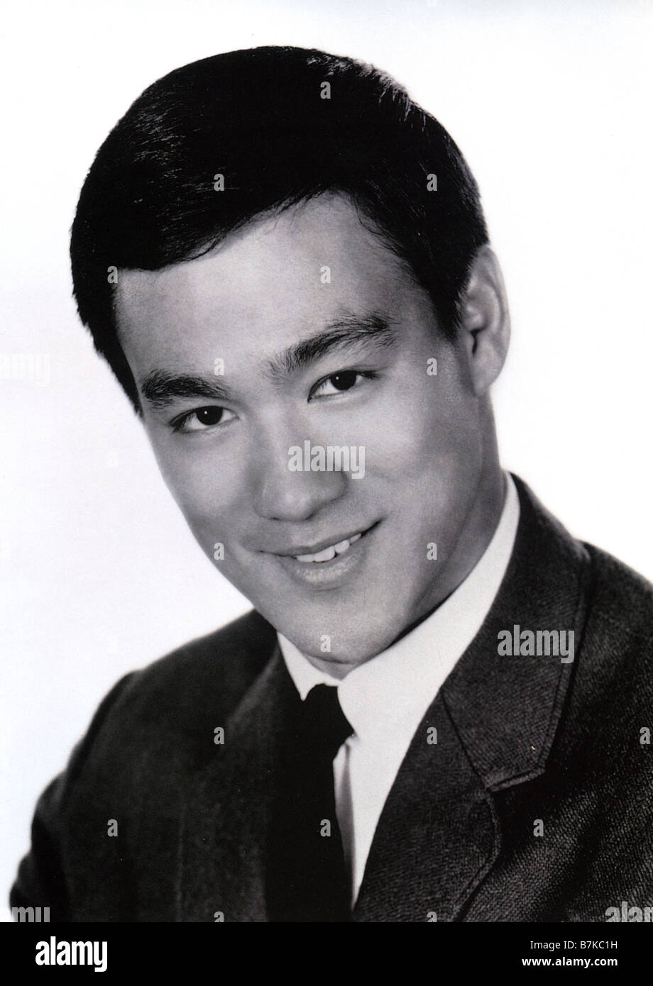 BRUCE LEE  US martial arts actor - Stock Image