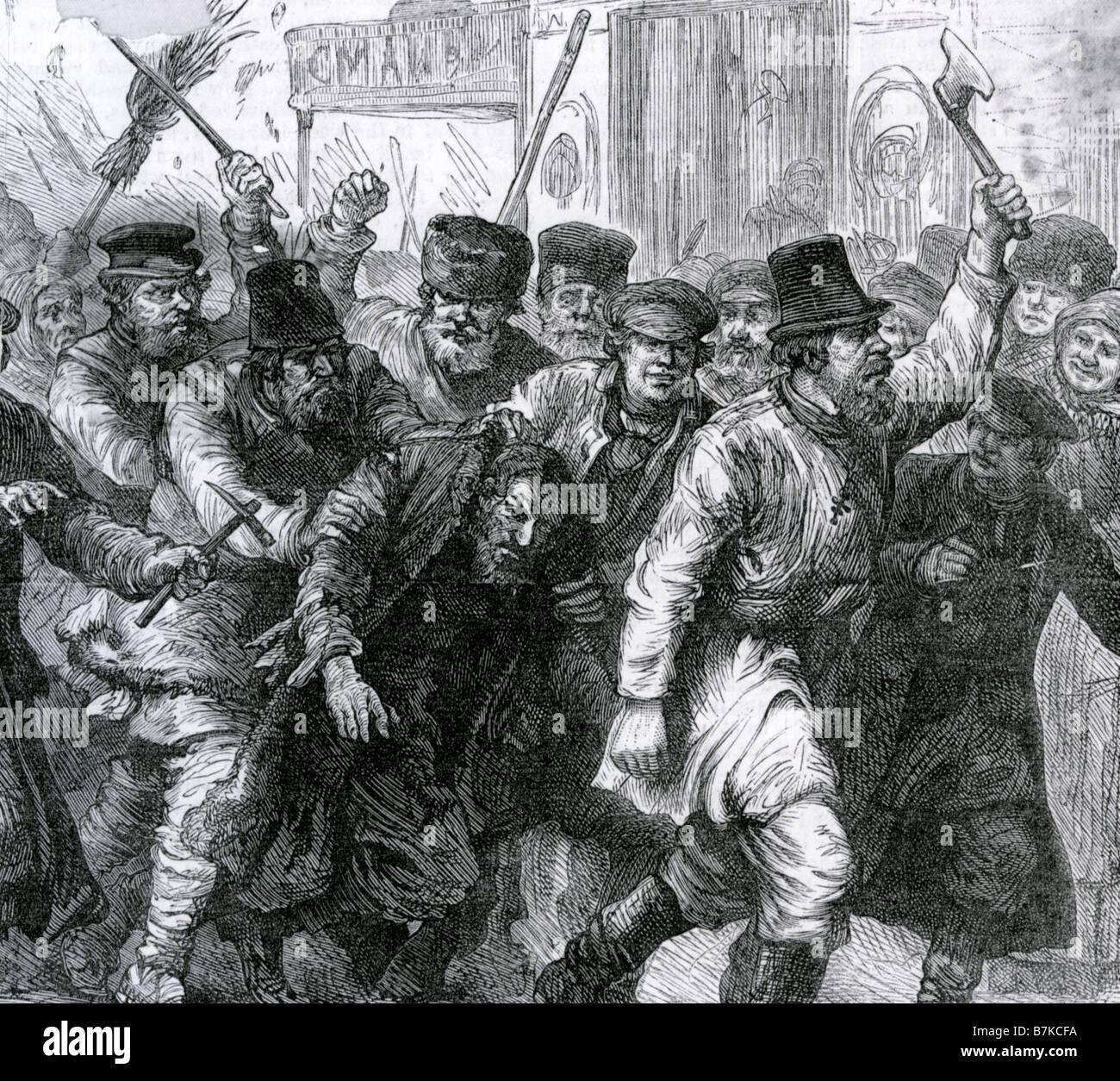 Massive anti-Russian pogroms in Kiev 88