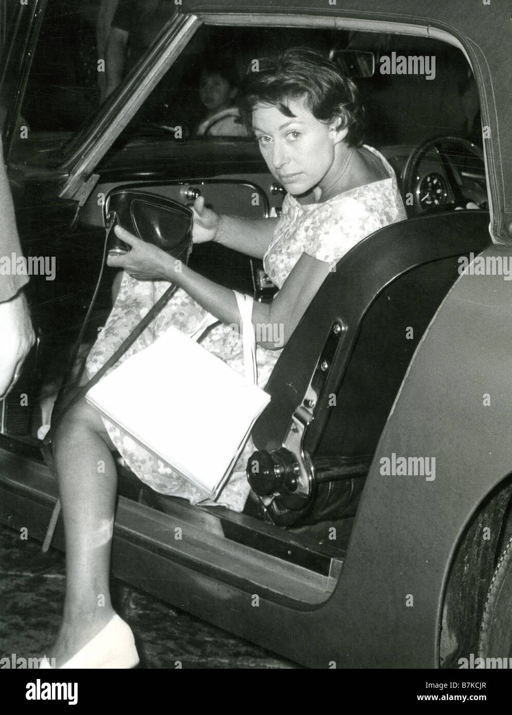 PRINCESS MARGARET of Great Britain about 1955 - Stock Image