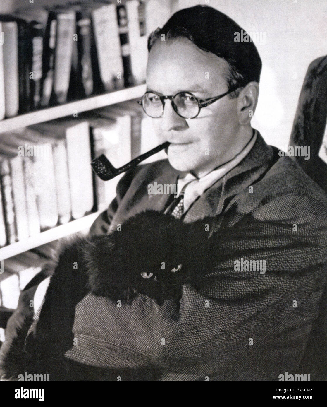 RAYMOND CHANDLER American writer 1888 1959 - Stock Image