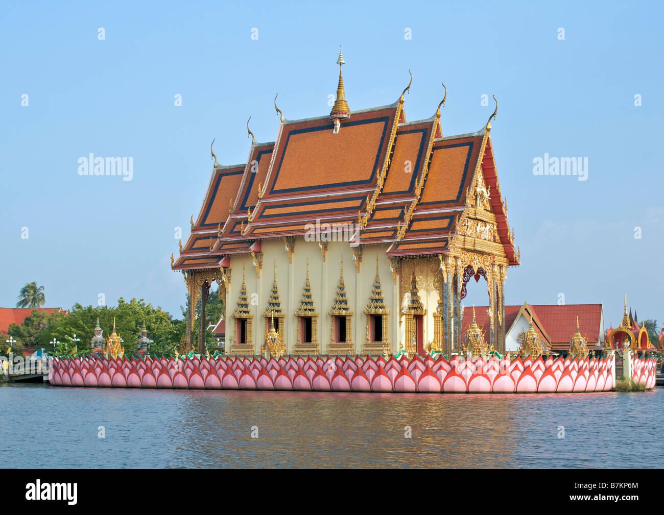 Wat Plai Laem Koh Samui Thailand Stock Photo