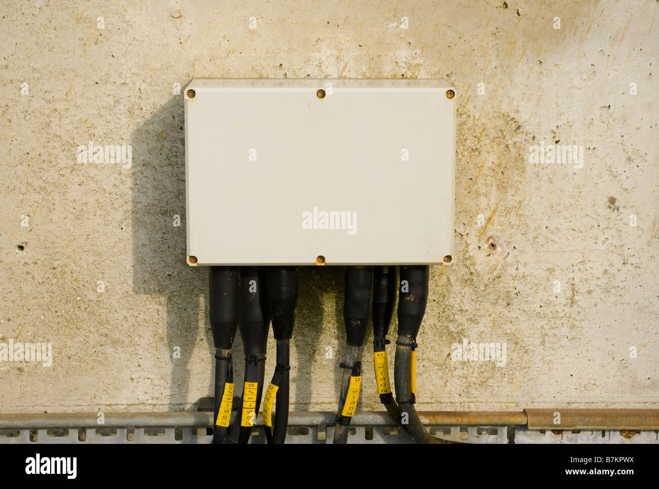 Electrical Junction Box Stock Photos House Wiring Electric Image