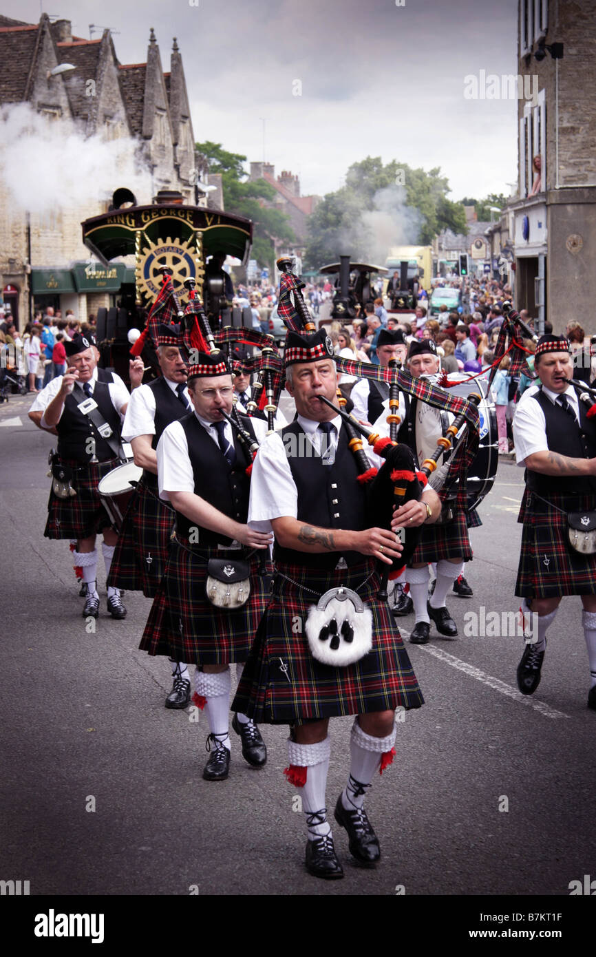 Witney Carnival Parade through the town 2008 - Stock Image