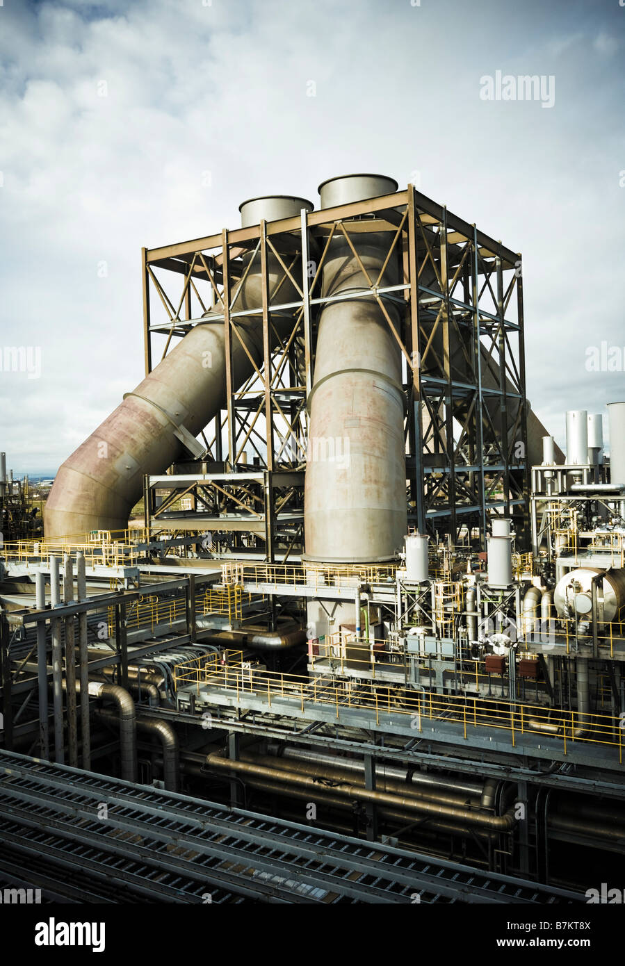 Power Station UK, gas fired power plant in England, UK - Stock Image