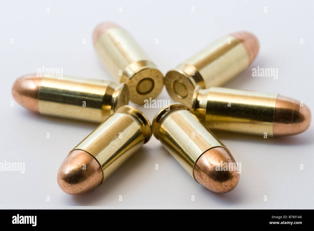 .45 Bullets - Stock Image