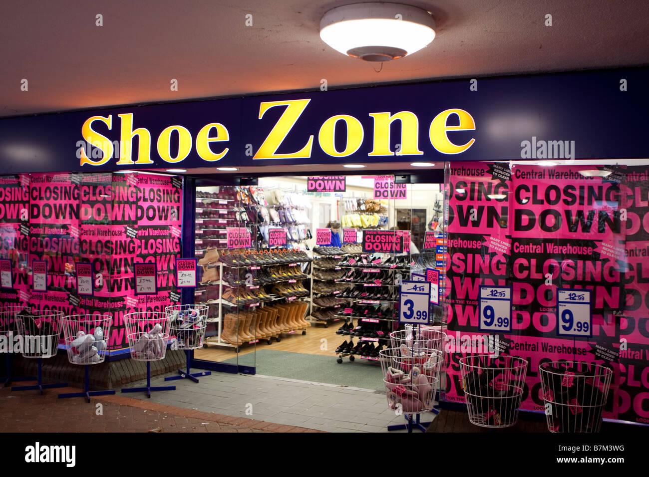 Shoe Zone shoe shop in Ringwood