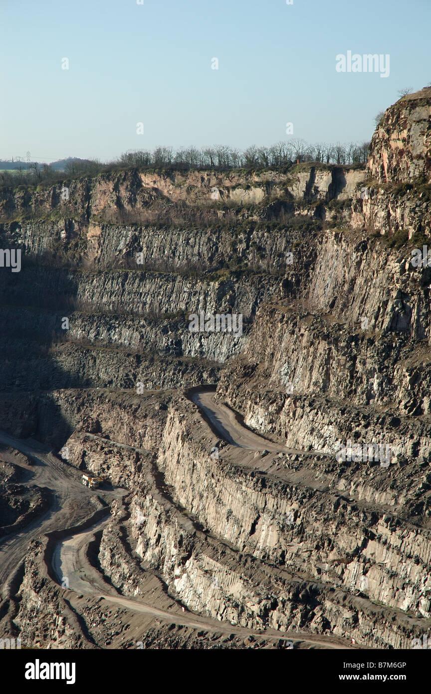 Croft Quarry, Leicestershire, England, Uk - Stock Image