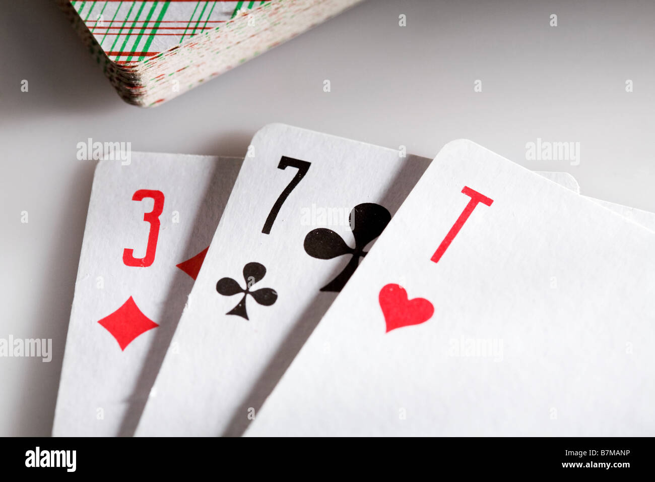 Black Jack pip Stock Photo
