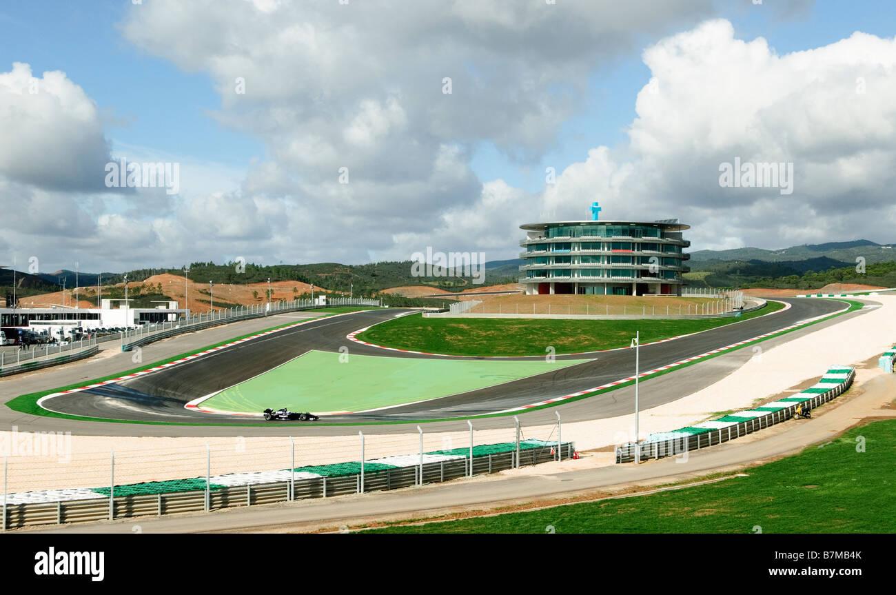 Circuito Algarve : Autodromo do algarve racecourse near portimao portugal stock